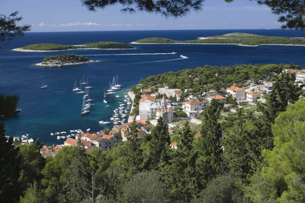 the best time to visit HVAR in Croatia