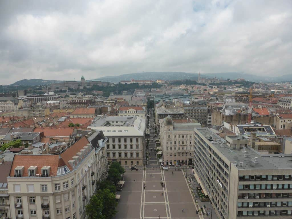 Budapest Day #4 - Rain, Heights, Expensive Potatoes And Cheap Wine 6