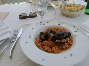 sea food risotto