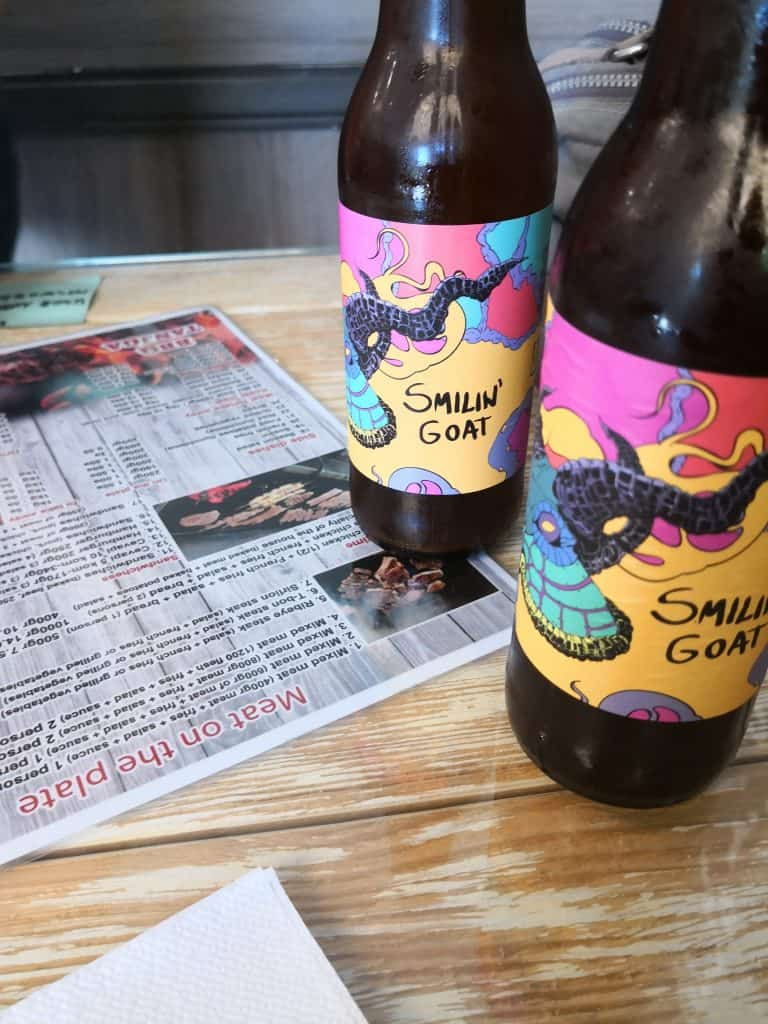smilin goat craft beer