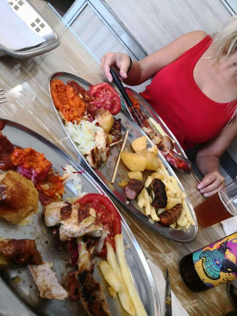 bbq tanjga meat platter 3