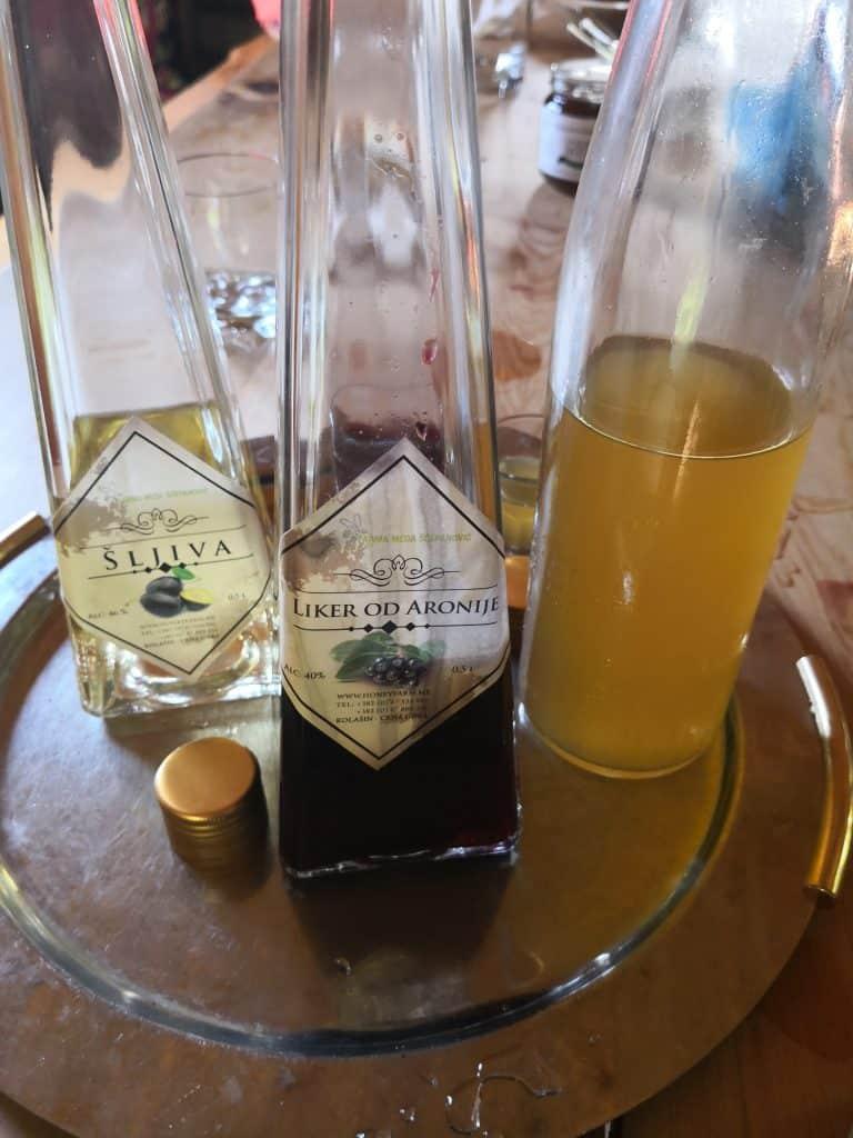 3 liquors