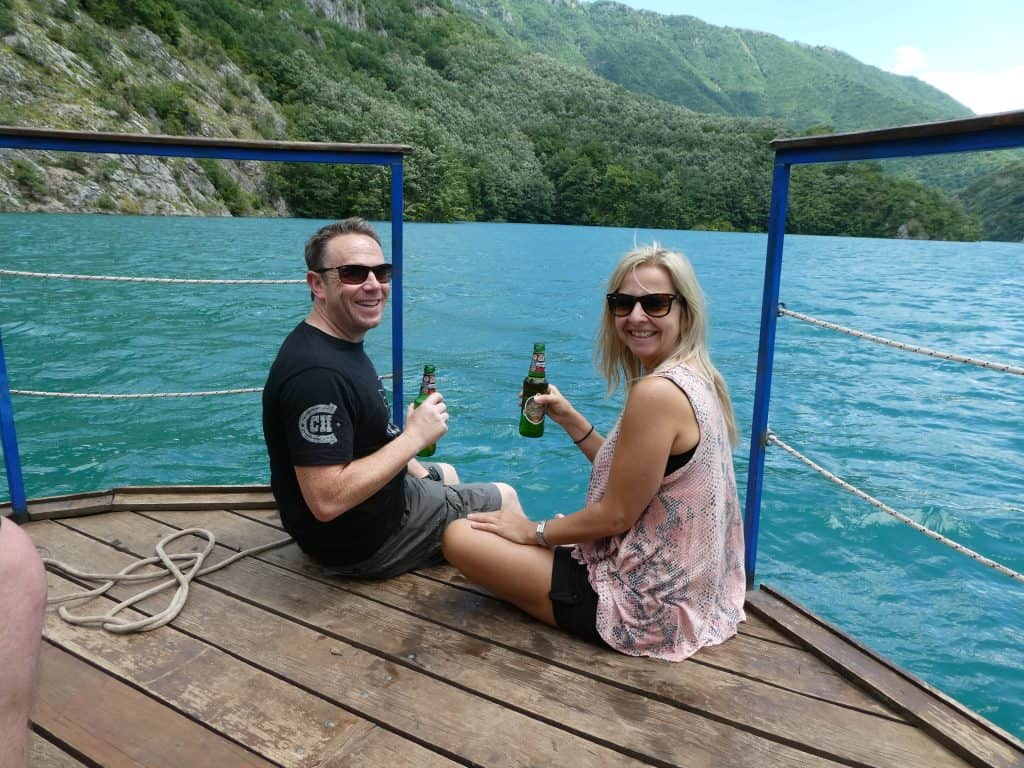 crafty beer on boat montenegro