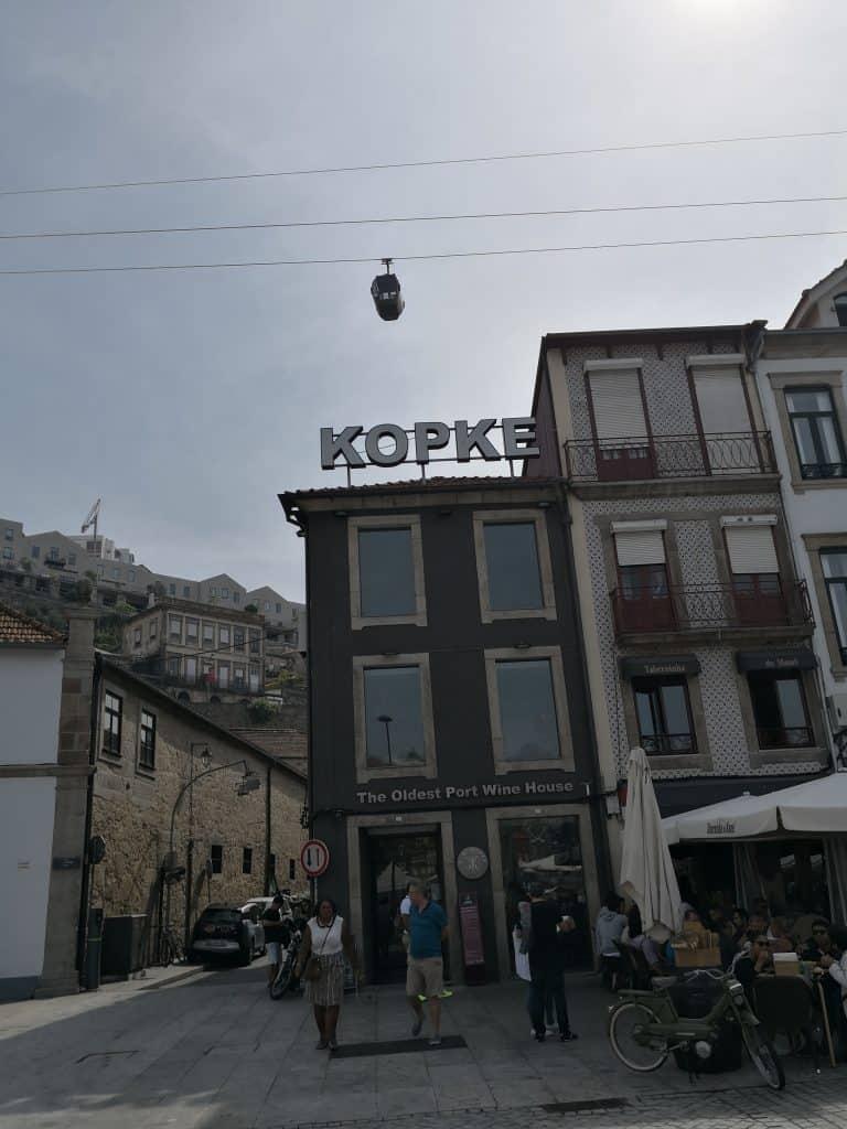 kopke port and chocolate tasting Porto