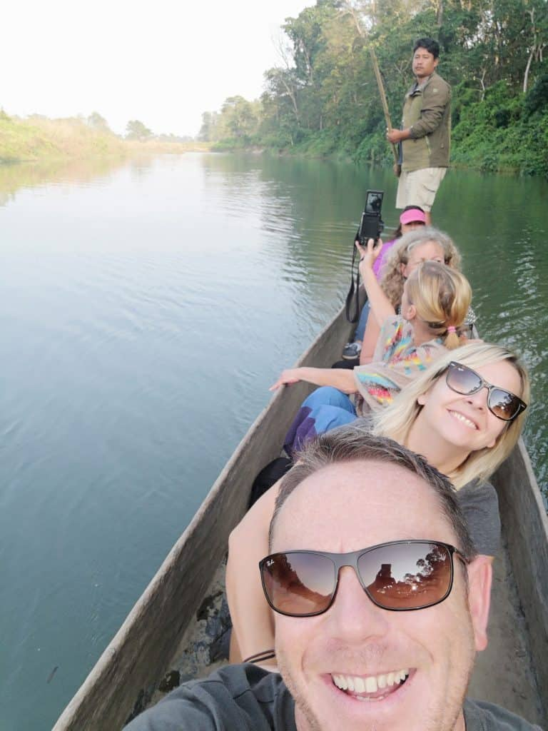 chitwan river cruise