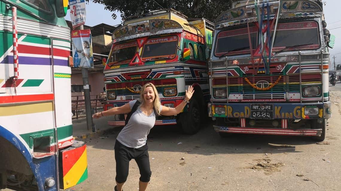 nepal trucks