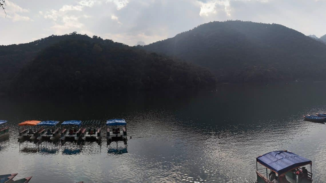 lake at Pokhara