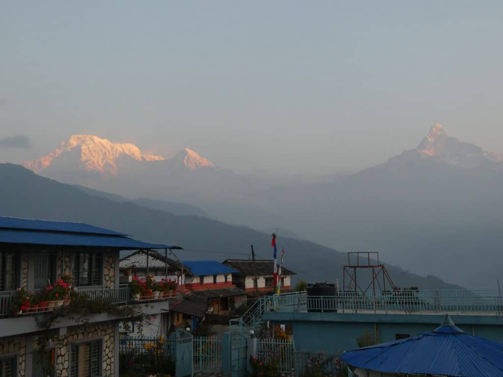 annapurna II and fishtail