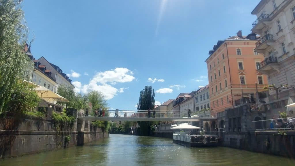 Ljubljana boat trip