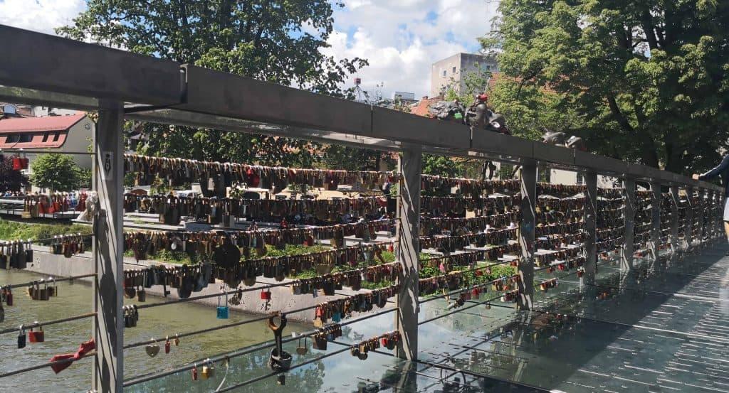 bridge with locks on
