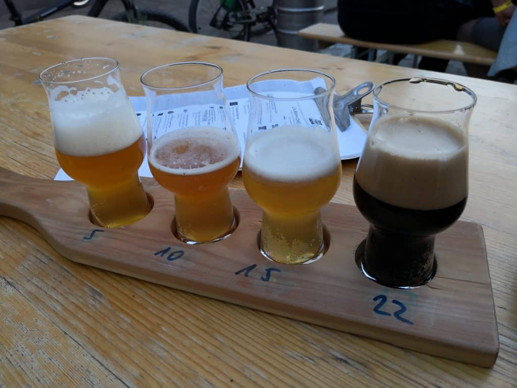 craft beer spank paddle Ljubljana