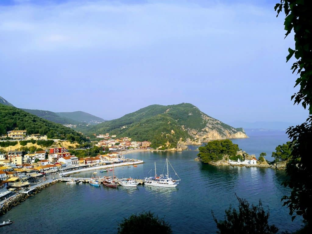 Parga bay view