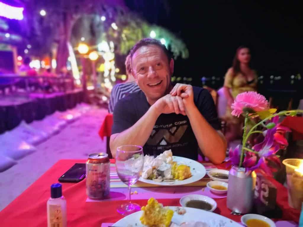 beach bbq food - Koh Rong