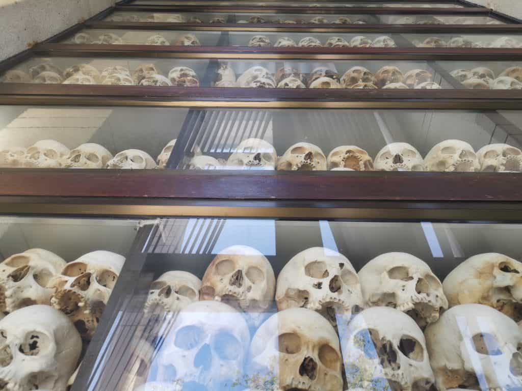 the killing fields Phnom penh